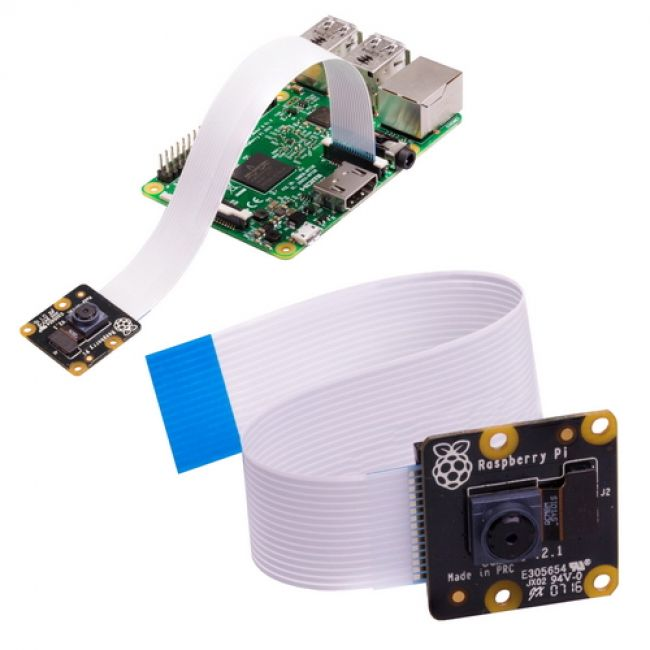 WEB камера Raspberry Pi   Камера PiNoIR Camera v2 Retail,   Infrared camera, Sony IMX219 8-megapixel sensor, Supports 1080p30, 720p60 and VGA90 video modes, Cable 15 cm, Compatible with Raspberry Pi 1, 2, and 3 (913-2673)