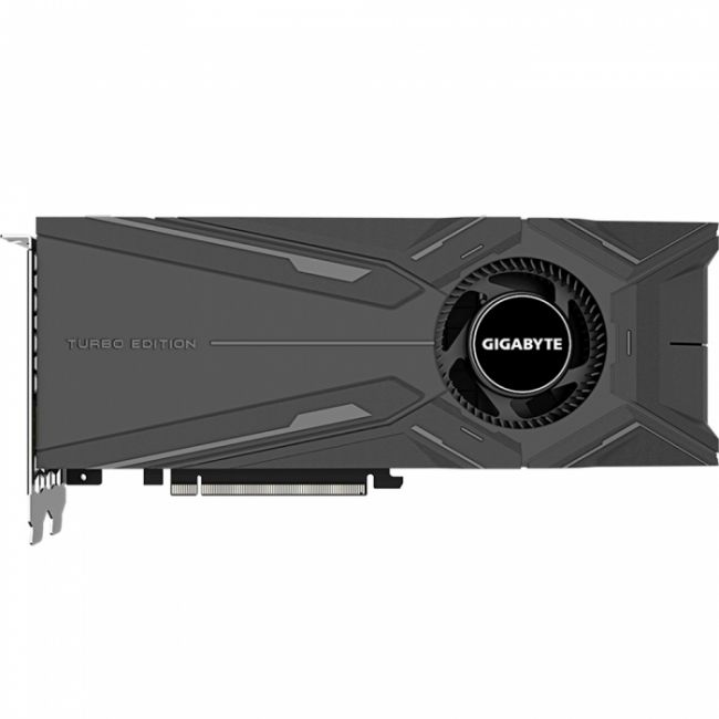 Видеокарты RTX™ 2080 TURBO OC 8G, PCI-Ex16 3.0, 8GB, GDDR6, 256bit, HDMI/3xDP/USB Type-C, (GV-N2080TURBO OC-8GC) , RTL {10}