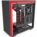 Корпус H710  CA-H710B-BR Mid Tower Black/Red Chassis with 3x120,1x140mm Aer F Case Fans