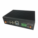 Платформа системного блока CAW-0110 Caswell Industrial Control Systems CPU:Intel Apollo Lake-I E3900 Series Processor  Memory:DDR3L 1600MHz Memory Support (1 Slot) Ethernet Ports: 2x GbE SFP & 4x GbE RJ-45 Ethernet Ports  (выставочный образец)