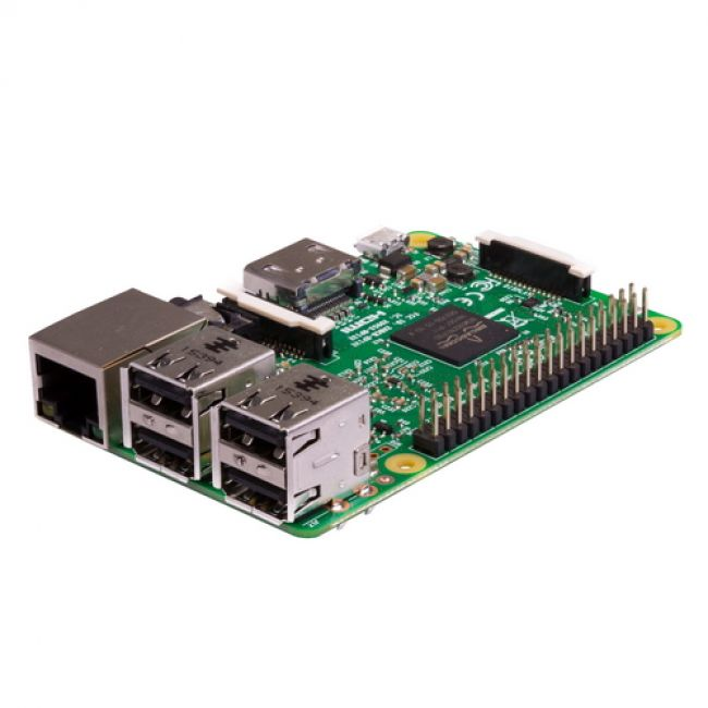 Raspberry Pi 3 Model B (RA125, E14 version) Retail, 1GB RAM, Quad Core 1.2GHz Broadcom BCM2837 64bit CPU, WiFi, Bluetooth, 40-pin extended GPIO, 4x USB 2.0, HDMI, CSI camera port, DSI display port, Micro SD port (Multisystem support) (710850)
