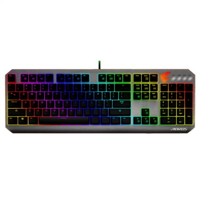 AORUS K7, USB KB/RU RED SW, RTL {10}
