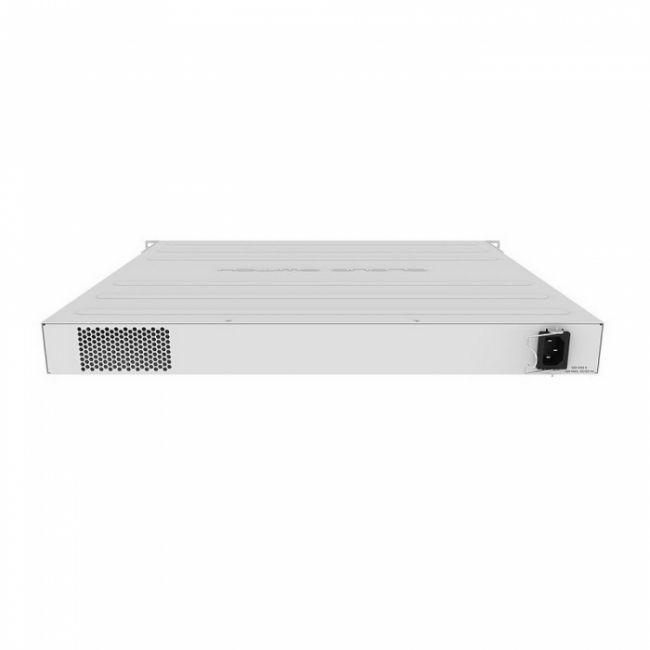 Коммутатор CRS354-48P-4S+2Q+RM Cloud Router Switch 354-48P-4S+2Q+RM with 48 x Gigabit RJ45 LAN (all PoE-out), 4 x 10G SFP+ cages, 2 x 40G QSFP+ cages, RouterOS L5, 1U rackmount enclosure, 750W PSU