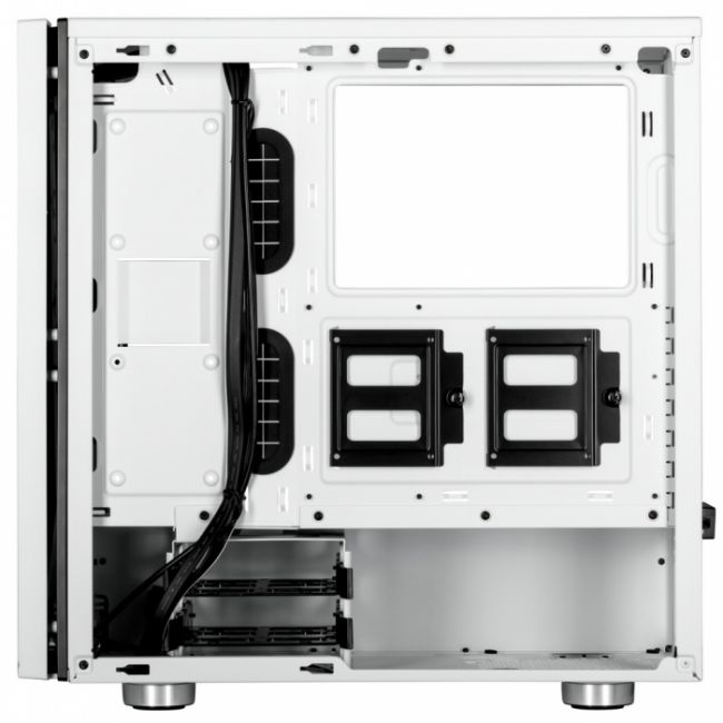 Корпус Carbide SPEC-06 Tempered Glass Mid-Tower Gaming Case, White CC-9011145-WW