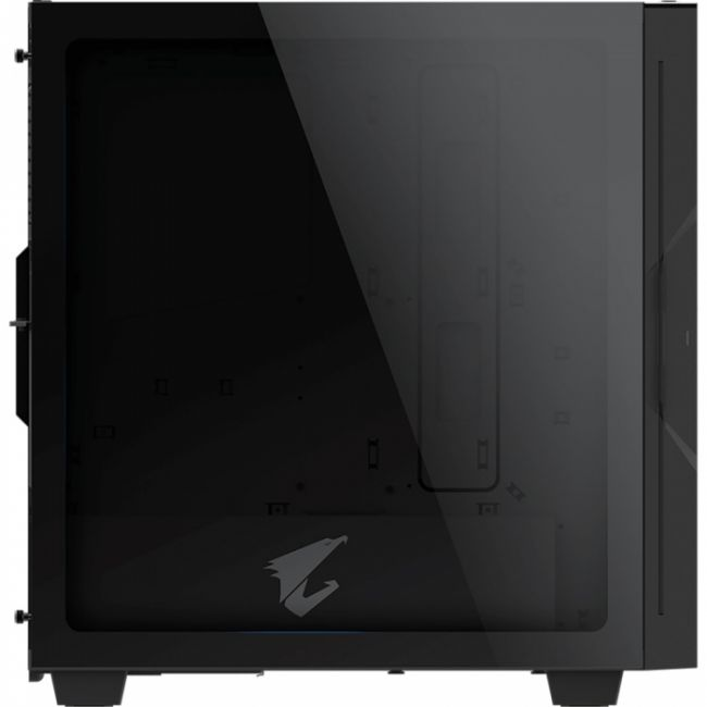Корпус AC300G ATX CASE/GPU:400mm/BLK GB-AC300G