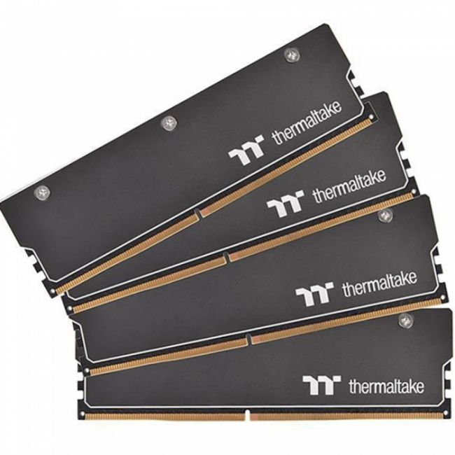 32GB Thermaltake DDR4 3600 DIMM WaterRam RGB Liquid Cooling Gaming Memory CL-W262-CA00SW-A Non-ECC, CL18, 1.35V, 4xHeat Shield, 1xMemory Water Block, 1xController, XMP 2.0, Kit (4x8GB), RTL (522496)