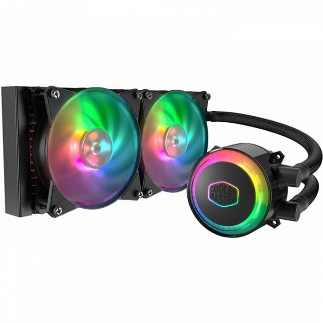 Жидкостная система охлаждения MasterLiquid ML240R RGB [MLX-D24M-A20PC-R1 ] Intel® LGA 2066 / 2011-v3 / 2011 / 1151 / 1150 / 1155 / 1156 / 1366 / 775 socket, AMD® AM4 / AM3+ / AM3 / AM2+ / AM2 / FM2+ / FM2 / FM1 socketRTL {6} (825)