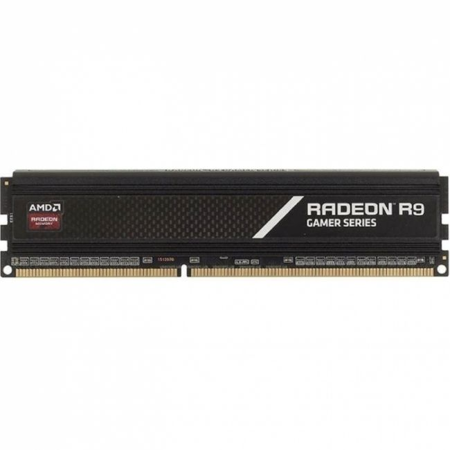 4GB AMD Radeon™ DDR4 3200 DIMM  Gamer Series R944G3206U1S , Heat Shield, Black, Retail (181050)