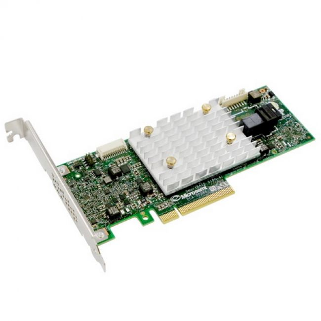 RAID-контроллер Adaptec SmartRAID 3101-4i (2291700-R) PCI Express 3.0 x8, SAS-3 12 Гб/с, 1GB, 1хSFF8643 internal