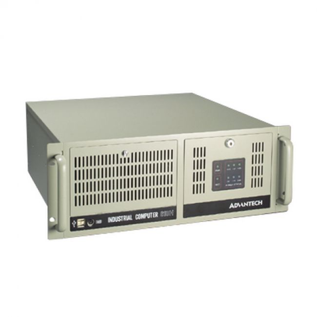 Корпус IPC-610BP-00XHE  Корпус 4U 14-Slot Rack-mount Chassis, w/o backplane, 2x 9cm/ 85 CFM ball-bearing system fans, w/o PSU Advantech