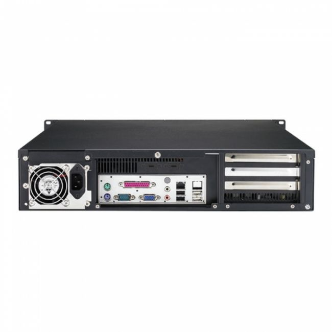 "Корпус ACP-2010MB-00CE  2U Rackmount Chassis, ATX/mATX, Отсеки: 1*5.25""+1*3.5""Ext+1*3.5""Int, 2x80mm fan, Размер (ШВГ): 482x88x480mm, Без PSU Advantech"