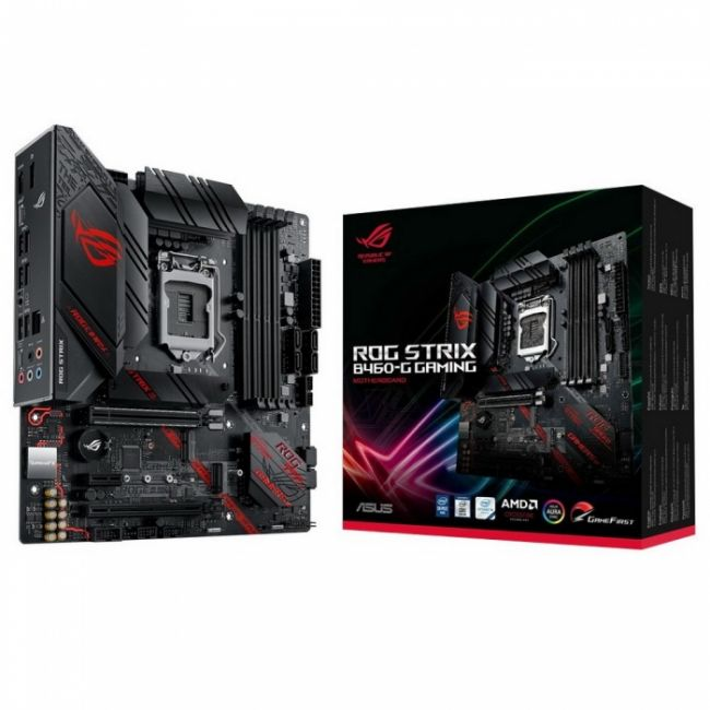 Материнская плата ROG STRIX B460-G GAMING /LGA1200,B460,USB3.2, M.2,MB RTL {10}