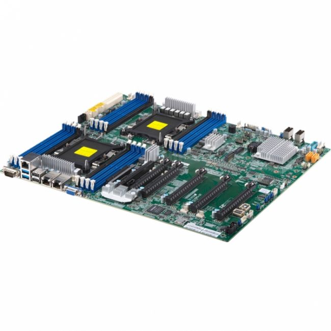 Материнская плата MBD-X11DPG-QT-B Socket P LGA-3647,Intel® C621, DDR4 SDRAM,7 PCI-E slots, SAS 3.0/SATA 3.0/NVMe hot-swap HDD/SSD support, Dual LAN with Intel® X550 10GBase-T