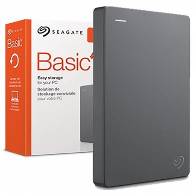 "Жесткий диск внешний 2.5"" 2TB Seagate Basic STJL2000400 USB 3.0, Win, Grey, RTL"