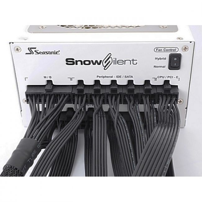 Блок питания Bad Pack Snow Silent-750 SS-750XP3(2S)  / Platinum-750 (1P2S75FSW3A11W), RTL