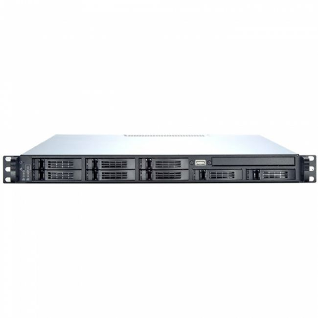 "Корпус Корпус Chenbro 1U (RM13108T2)  external 8x2,5"" HDD with SATAII/SAS backplanes, SlimODD (SATA) to MB (SATA) adapter, MB 12""x13"", 5xFANs, wo PSU (RM13108H01*12682)"