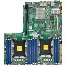 "Материнская плата Материнская плата SuperMicro MBD-X11DDW-NT-O 12.3"" x 13.4""  LGA 3647  Up to 1.5TB 3DS ECC RDIMM  ntel® C622 controller for 14 SATA3  6 USB 3.0 ports (4 rear + 2 headers) Type A  1 VGA port"
