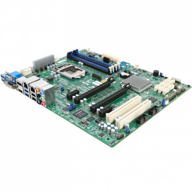 Материнская плата MBD-X11SAE-F-O, RTL  ATX  LGA 1151  Up to 64GB Unbuffered ECC/non-ECC UDIMM  DDR4-2400MHz  in 4 DIMM slots 6 USB 2.0 ports (2 rear + 4 headers)  6 USB 3.0 ports (2 rear + 4 headers)  2 PCI-E 3.0 x16  2 PCI-E 3.0 x12 - 5V PCI 32bit   {10}